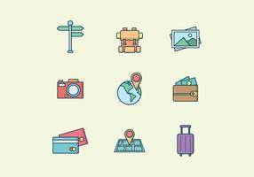 Vettore gratuito di viaggi e turismo