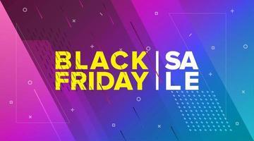 venerdì nero brillante vendita banner design
