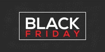 modello di progettazione banner vendita venerdì nero vettore
