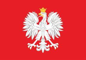 Vettore libero dell'aquila polacca