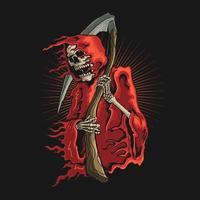 Grim Reaper con la falce