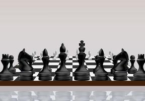 scacchiera concetto di gioco