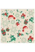 carta da parati di Natale senza soluzione di continuità