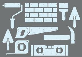 Icone del muratore vettore