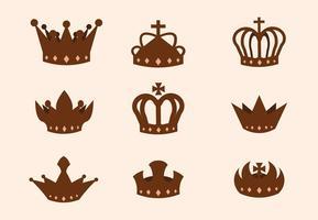 Vettore gratuito corona britannica