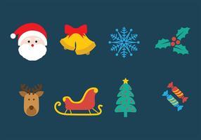 pacchetto di Natale vettoriale