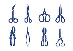 Vettore di forbici