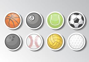 Vettore di palla sport gratis