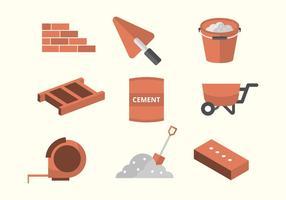 Icone in muratura gratis vettore