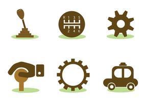 Car Vector Elements Set