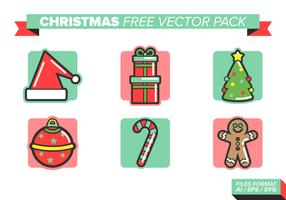 pacchetto di Natale vettoriali gratis
