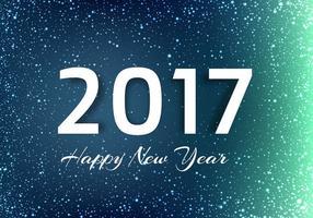 Sfondo di vettore nuovo anno 2017 gratis