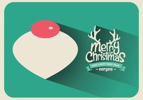 Natale ornamento vettoriale