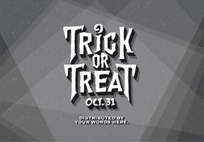 Film classico Halloween vettoriale