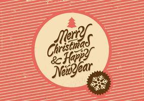 Vettore di festa di vettore del nuovo anno e di Natale