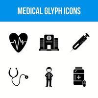 icone del glifo medico