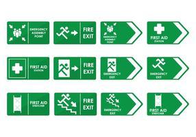 Segno di emergenza vettore