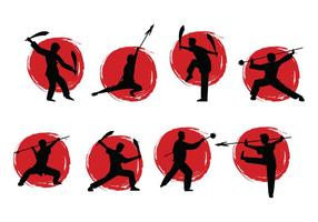 Vettore di Wushu gratis