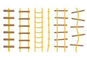 Vettore libero delle icone della scala della corda