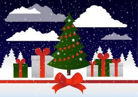 Vacanze invernali vettoriali gratis