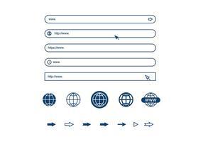 Elementi della barra degli indirizzi vettore
