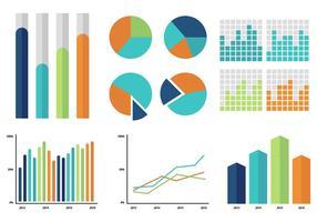 Icona ed elementi di infografica vettore