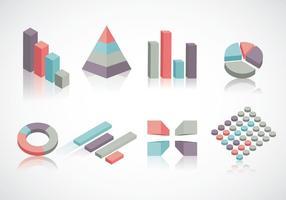 Vettore gratuito di elementi infografica