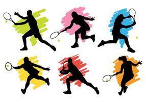 Tennis icone vettoriali