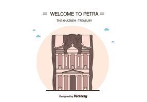 Petra Vector Background
