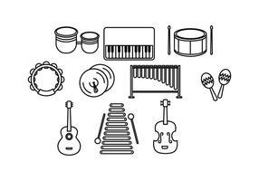 Musica gratis vettoriale