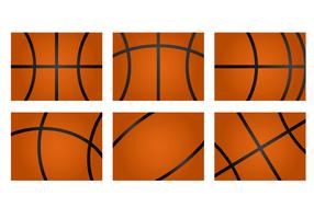 Vettore libero di struttura di pallacanestro