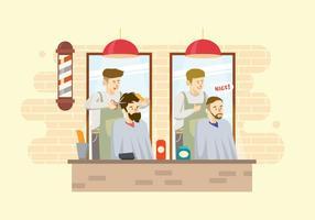 Illustrazione libera del barbiere vettore