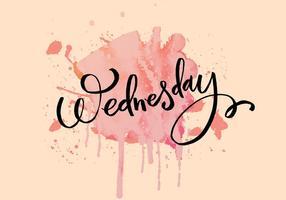 Mercoledì Inky acquerello