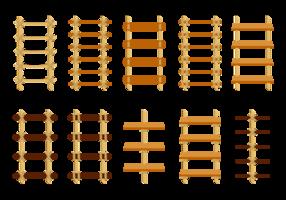 Vettore di scaletta di corda gratis