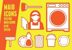 Icone della domestica
