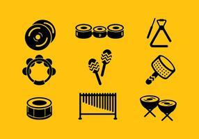 Icona musicale vettoriali gratis