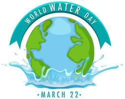 icona della giornata mondiale dell'acqua