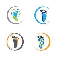 set per la cura dei piedi vettore