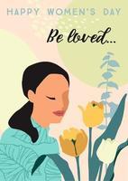 poster della giornata internazionale della donna