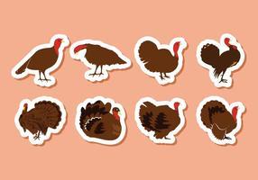 Illustrazione di vettore di uccello Turchia gratis