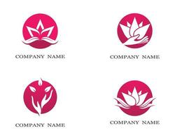 set di simboli di loto