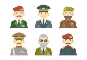 Vettore gratuito di icone di brigata