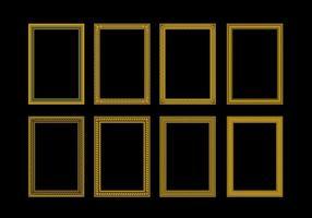 vettore rettangolo di quadri