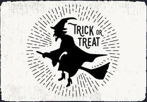 Illustrazione di vettore di Dolcetto o scherzetto gratis