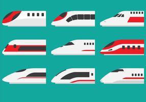 Super Locomotiva del treno vettore