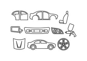 Auto Body Vector gratuito