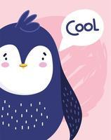 personaggio animale uccello pinguino