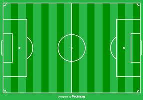 Sfondo di calcio terra vettoriale