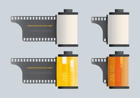 Modello della scatola metallica del film
