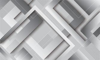 moderno design geometrico alla moda sfumato grigio vettore